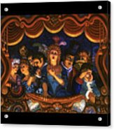 Night At The Paris Opera Acrylic Print