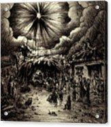 Night In Bethlehem Acrylic Print
