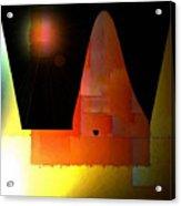 Night In The Desert Acrylic Print