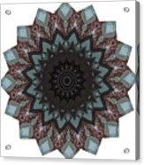 10448 Night Shift Kaleidoscope Acrylic Print