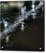 Night Stream Acrylic Print