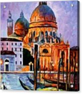 Night Venice Acrylic Print