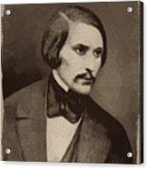 Nikolai Gogol Acrylic Print