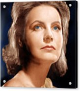 Ninotchka, Greta Garbo, Portrait Acrylic Print by Everett