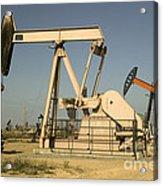 Nodding Donkey Oil Pumps Acrylic Print