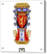 Norskog Coat Of Arms Acrylic Print