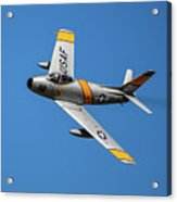 North American F-86 Sabre Acrylic Print