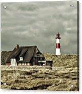 North Sea Lighthouse - Germany Acrylic Print
