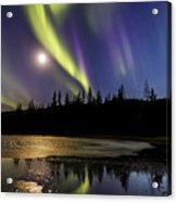 Northern Lights Thingvellir Acrylic Print