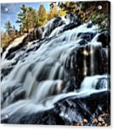 Northern Michigan Up Waterfalls Bond Falls Acrylic Print