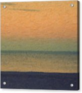 Not quite Rothko - Breezy Twilight Acrylic Print