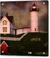 Nubble Light  Acrylic Print