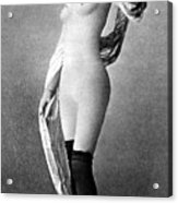 Nude Posing, C1888 Acrylic Print
