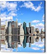 Ny East River Acrylic Print