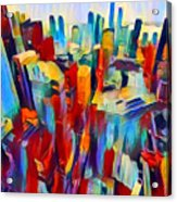 Nyc View Acrylic Print