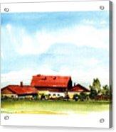 Oberendling Bavaria Acrylic Print