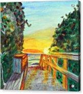 ocean / Beach crossover Acrylic Print
