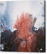 Ocean Flower Acrylic Print by Shirley McMahon