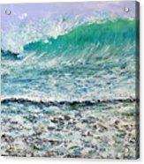 Ocean Surf Acrylic Print