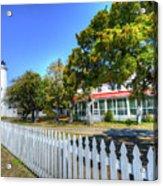 Ocracoke Lighthouse, Ocracoke Island, Nc Acrylic Print