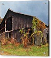 Ohio Barn In The Fall Acrylic Print