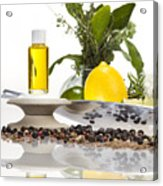 Oil Mixture Of Essential Oils For Aromatherapeutic Use Acrylic Print