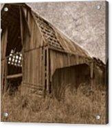 #210 Old Barn Acrylic Print