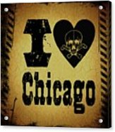 Old Chicago Acrylic Print