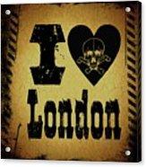 Old London Acrylic Print