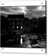 Old Mill Acrylic Print