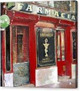 Old Pharmacy Acrylic Print