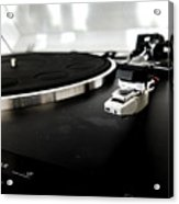 Old Record Player Acrylic Print