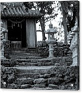 Old Shrine Acrylic Print