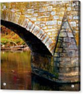 Old Stone Bridge Acrylic Print