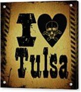 Old Tulsa Acrylic Print