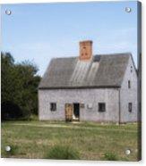 Oldest House - Nantucket Massachusetts. Acrylic Print