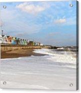 On A Beach Acrylic Print