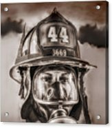 On Duty And Into Fire Acrylic Print