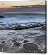 On The Ledge - Sunrise Seascape Acrylic Print