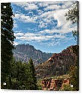 On The Road To Red Rocks  Acrylic Print