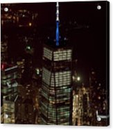 One World Trade Center In New York City  Acrylic Print