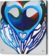 Open Heart Acrylic Print