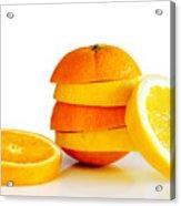 Oranje Lemon Acrylic Print