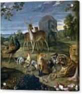 Orpheus And Animals Acrylic Print