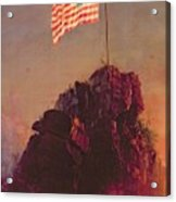 Our Flag Acrylic Print