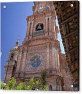 Our Lady Of Guadalope, Puerto Vallareta Acrylic Print