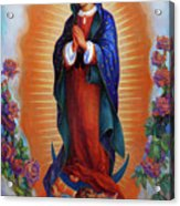 Our Lady Of Guadalupe - Virgen De Guadalupe Acrylic Print