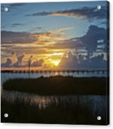 Outer Banks Sunset Acrylic Print