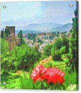 Overlooking Granada Acrylic Print