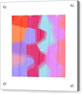 Oversprayed Acrylic Print